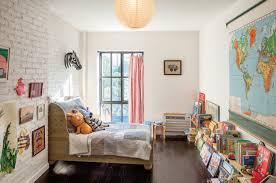 Living Room  Classic Sofa Painted Brick Decora White Brick Ideas White Brick Wall Living Room