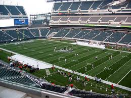 lincoln financial field section c5 philadelphia eagles rateyourseats