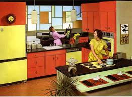 Retro Kitchen Retro Kitchen Paint Colors From 50s To Early 60s Geneva Republic
