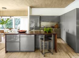 Kitchen  Awesome Black Brick Tile Backsplash Feats With Modern Kitchen Cupboard Interior Fittings