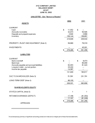 Basic Financial Statement Template Statement Of Financial Position Template Ninjaturtletechrepairsco 23