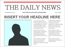 Blank Newspaper Ad Template Blank Newspaper Template Word Beautiful Article Format Ad For Mac
