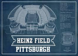 Heinz Stadium Seating Chart Heinz Stadium Black Seating Chart Stadium Print
