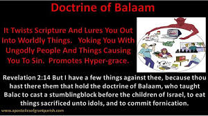Doctrine of Balaam   Revelation, Scripture, Revelation 2