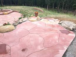 flagstone patio cost. Simple Patio Flagstone Patio Cost Packed With Rock To Frame  Cool Inside Flagstone Patio Cost A