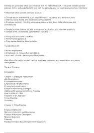 Free Training Manual Template Introduction Sample Sakusaku Co