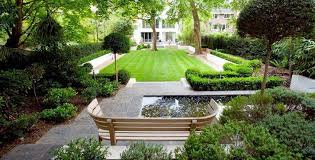Small Picture a slate grey garden design and landscaping patio with sleek grey