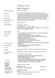 13 Awesome Retail Sales Associate Resume Sample Gallery