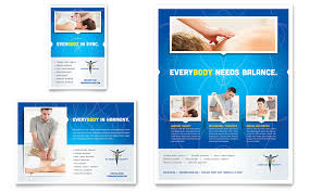 Reflexology Massage Flyer Ad Template Word Publisher