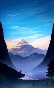 Fantasy landscape ...