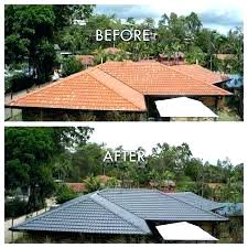 paint roof tiles sydney painting shingles s white can you metal colors terracotta asphal can you paint roof