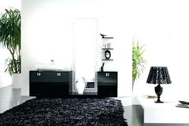 black and white bathroom rugs sets bear rug round furniture amazing choose se
