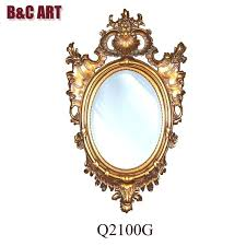 oval mirror frame. Gorgeous Oval Mirror Wood Frame A2643780 Hand Carved Decorative For Home Decor