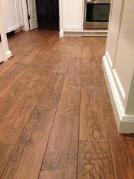 High Quality Flooring; Marrazzi Gunstock Oak Porcelain Tile, Home Depot Sable Brown  Sanded Grout Which Looked