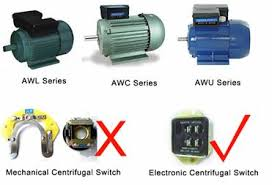single phase capacitance running motor capacitance start and capacitance running motor is on and off and connect with starting circuit by mechanical