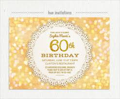 60 birthday invitations 22 60th birthday invitation templates free sample example