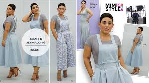 Jumper Pattern Simple How To Sew Jumper With Mimi G Simplicity Pattern 48 YouTube