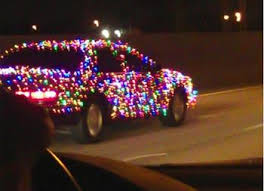 decked out cars | LOOK > Car Decked Out for Christmas: Awesome or ...