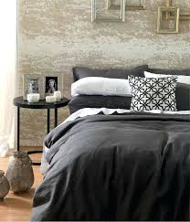 full size of laundered linen charcoal super king quilt cover set by mm linen super king
