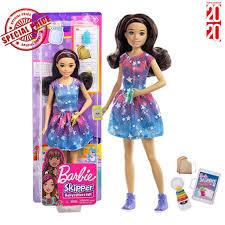 Búp Bê Barbie Tóc Đen chính hãng 266,200đ