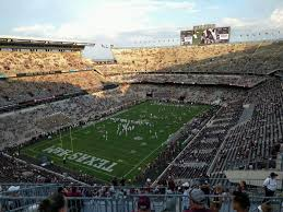 Kyle Field Section 409 Row 9 Seat 9 Texas A M Aggies Vs
