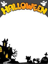 free halloween stationery templates halloween templates free