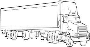 semi truck coloring page printable truck coloring pages new truck and trailer coloring pages semi truck