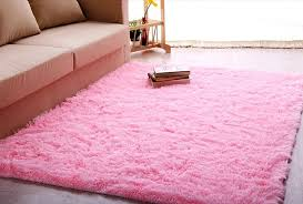 Pink Rugs For Living Room Amazoncom Igirls Shaggy Daughters Roomultra Soft Area Rugs