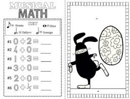 Music Coloring Pages Springeaster By Emily Conroy Tpt