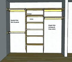 closet pole height closet rod height hanging closet rod height plus double closet rod standard height