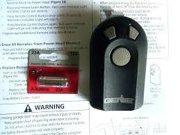 new garage door opener remote garage remote battery genie type 3 garage door opener remote control
