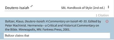 Bibliography Logos Help Center