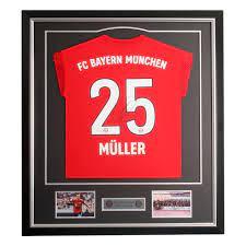Framed Shirt Müller   Official FC Bayern Munich Store