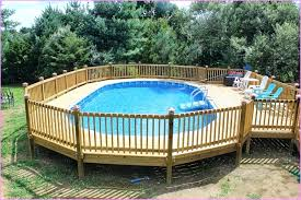 above ground swimming pool with deck. Unique Swimming Above Ground Pool Deck Framing Designs For Swimming Pools  Decks Ideas Plans In With