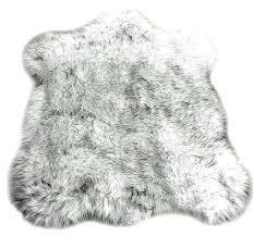 faux fur throw rug s rugs australia