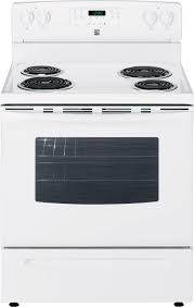 Kenmore 94142 53 cu ft Electric Range Oven White Sears Outlet