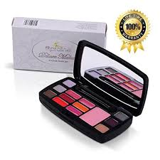 amazon fits in every purse sleek and professional makeup kit small natural 15 color travel set includes eye shadow blush lip gloss