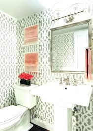 mirrors for powder rooms room bathroom plug small ideas dimensions mini chandeliers mirror size powde powder bathroom mirrors
