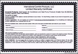 Guarantee Certificate Template Word Roof Certification Template