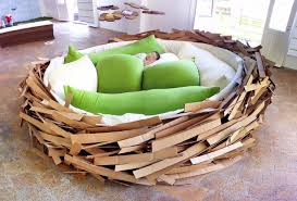 the bird s nest by o ge creative group looks like the coolest kid s bed ever then you read the blurb