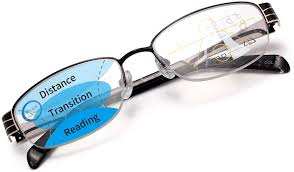 Progressive Lenses Blue Light Womens Metal Acetate Progressive Multifocal Blue Light Blocking Reading Glasses Computer Readers For Women