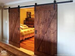 Barn Doors For Bathrooms Rustic Sliding Barn Door