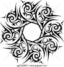 Eps Illustration Tribal Ornament Vector Clipart Gg75326647 Gograph