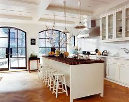 white country kitchen with butcher block. Lines Kitchen Inspiration Month Day Two Butcher Block Counters White Country With U