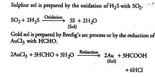Sulphur Sol Oxidation Preparation Qs Study