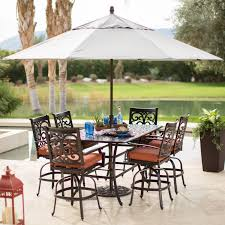 Fabulous Patio Dining Room Set Design With Metal Chairs And