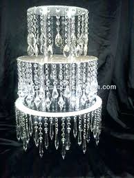 chandelier cupcake stand crystal chandelier cupcake stand acrylic wedding cake crystals with on home improvement shows black chandelier cupcake