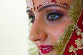 bridal makeup tutorial for an indian bride
