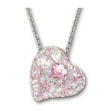 get ations swarovski swarovski crystal pendant female cute pink simple heart key chain gift 1062588
