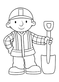 Small Picture Bob the builder coloring pages Bob the builder party Pinterest